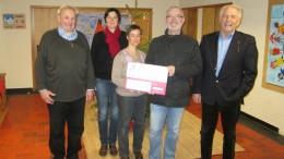 BÜRGERDIENST e.V. spendet für Kath. Kindertagesstätte St. Nikolaus in Birresborn
