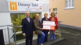 Bürgerdienst Vulkaneifel e. V. unterstützt Dauner Tafel mit einer Spende für die Kfz Betriebskosten