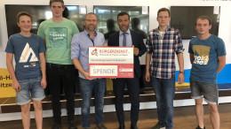 """Bürgerdienst e.V. unterstützt großes Messdienerzeltlager an der """"Hütte zwischen den Maaren""""."""