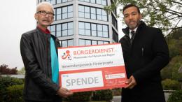 Radeln für den guten Zweck - BÜRGERDIENST unterstützt den Verein Nestwärme e.V.