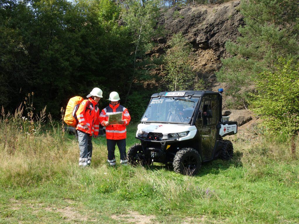 BÜRGERDIENST e.V. ermöglicht die Anschaffung des Traxter HD 10 für den DRK Ortsverein Daun